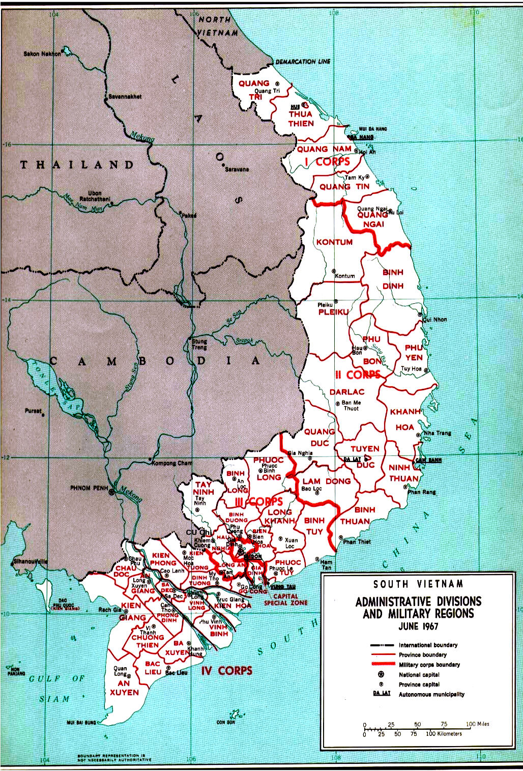Map Of South Vietnam Maps Map Of South Vietnam